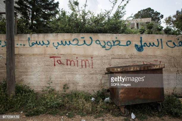 In the streets it is easy to find graffiti with the name of the Tamimi Ahed Tamimi has been in prison since December 2017 she is a teenage activist...