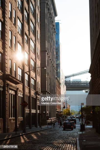 in the streets of brooklyn, new york - brooklyn new york stock pictures, royalty-free photos & images
