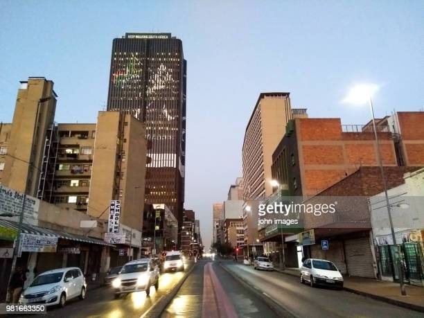 in the streets of johannesburg - gauteng province stock pictures, royalty-free photos & images