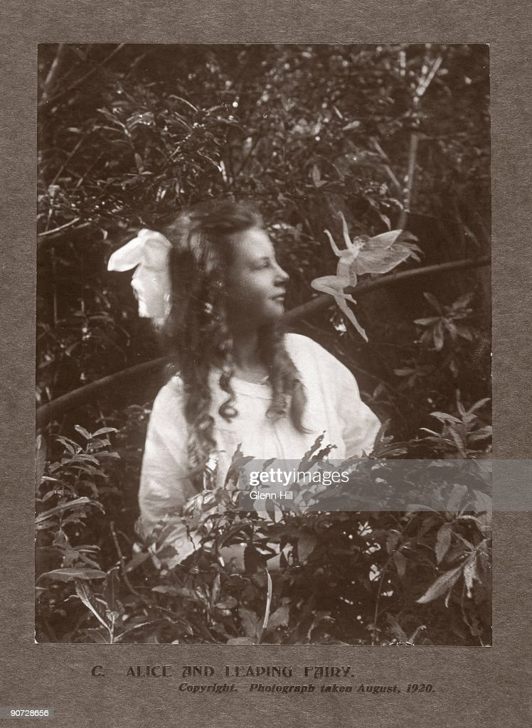 In the summer of 1917, 15-year-old Elsie 'Iris' Wright (1901-1988) and her 10-year-old cousin Frances 'Alice' Griffiths (1907-1996) claimed to have photographed fairies in a beck behind Elsie's home in Cottingley, near Bradford. The photographs of the 'Beck Fairies', as the girls called them, went on to become one of the most famous examples of image manipulation in photography. Alice was probably the name given to Frances by Sir Arthur Conan Doyle (1859-1930) in an attempt to conceal the girls' identities when he published the photographs. Although Elsie later admitted the photographs were fakes, Frances was more reticent. To her dying day she claimed that the girls had seen fairies, and that at least one of the photographs was genuine.