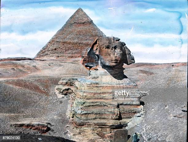 In the time of Pharaoh Khafre around 2800 BC When you shift the origin of this enigmatic image work It is the Sphinx carved from the rock of gigantic...