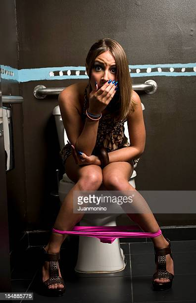 in the toilet - urinating stock pictures, royalty-free photos & images