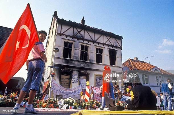 In the town of Solingen Germany on the night of 28th May 1993 four German youths set fire to the home of the Turkish Gen�� family Five family members...
