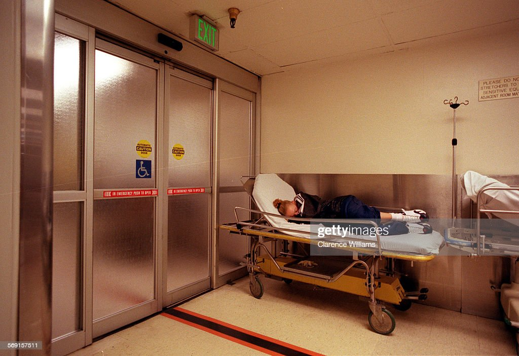 018108.ME.1023.USC ER.2––In the usually busy overcrowded County USC ...
