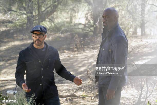 CROWD 'In The Wild' Episode 102 Pictured Jeremy Piven as Jeffrey Tanner Richard T Jones as Detective Tommy Cavanaugh