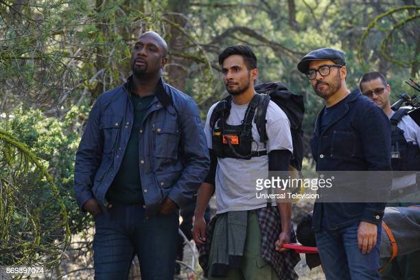 CROWD 'In The Wild' Episode 102 Pictured Richard T Jones as Detective Tommy Cavanaugh Jeremy Piven as Jeffrey Tanner