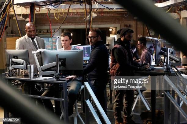 CROWD 'In The Wild' Episode 102 Pictured Richard T Jones as Detective Tommy Cavanaugh Blake Lee as Josh Novak Jeremy Piven as Jeffrey Tanner Jake...
