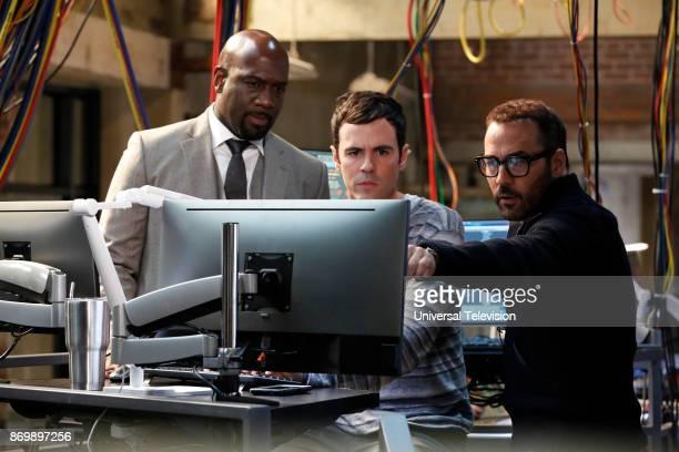 CROWD 'In The Wild' Episode 102 Pictured Richard T Jones as Detective Tommy Cavanaugh Blake Lee as Josh Novak Jeremy Piven as Jeffrey Tanner