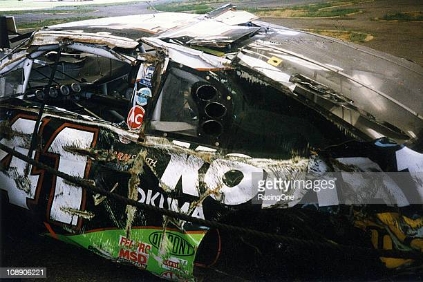 In the Winston Select 500 at Talladega Superspeedway Ricky Craven escaped with only bruises after a wild airborne crash into the corner catch fence