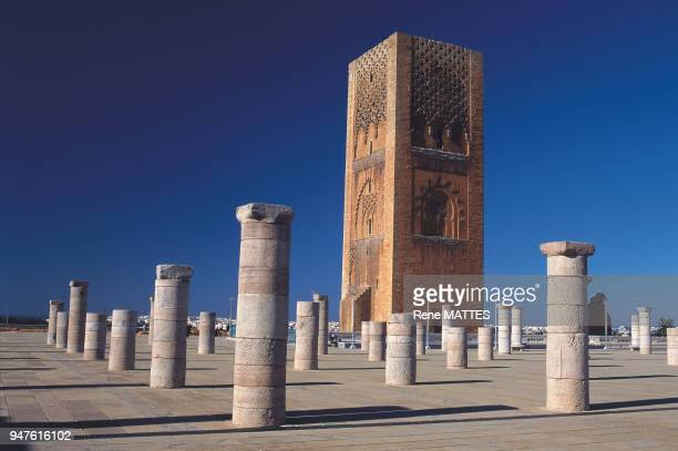 In the XIIth century the sultan Yacoub El Mansour planned to build the largest mosque in the Muslim world after that of Samarra in Iraq Unfortunately...