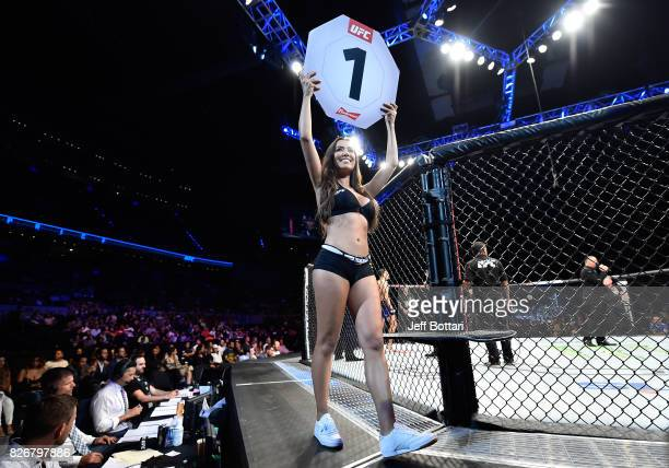[CAPTION] in their welterweight bout during the UFC Fight Night event at Arena Ciudad de Mexico on August 5 2017 in Mexico City Mexico