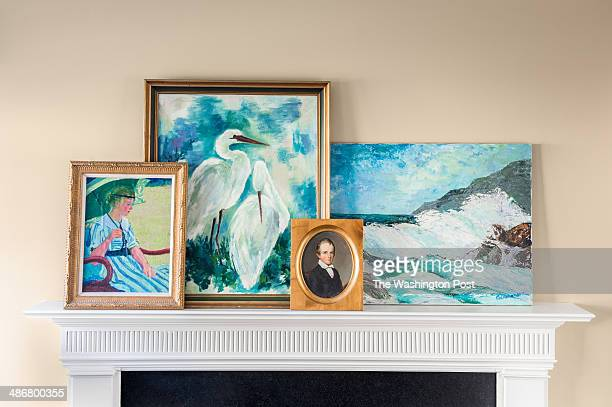 In these scenes from her 'four seasons' of design interior decorator Annie Elliott of Bossy Color has decorated this single living room for Summer...