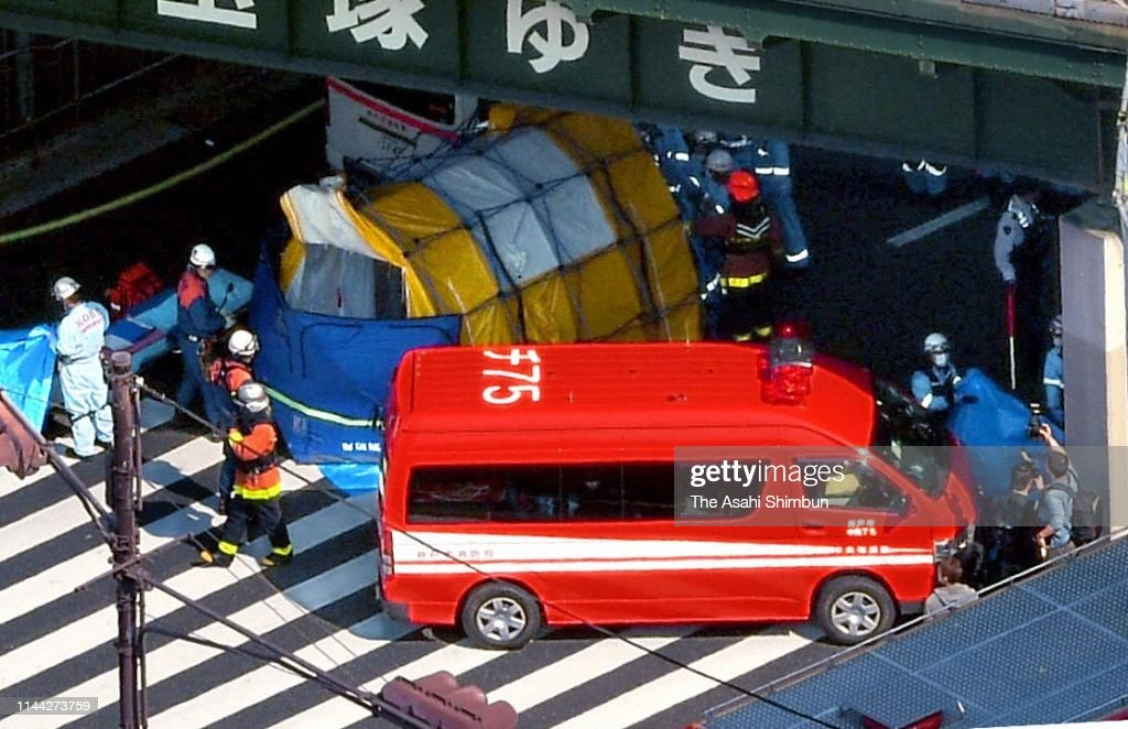 JPN: Kobe Bus Hits Pedestrians, Killing At Least 2, Injuring Others