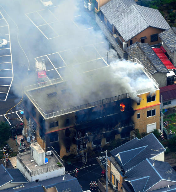 JPN: Arson Suspected In Fire Kills 1, Hurts 35 At Kyoto Animation Studio