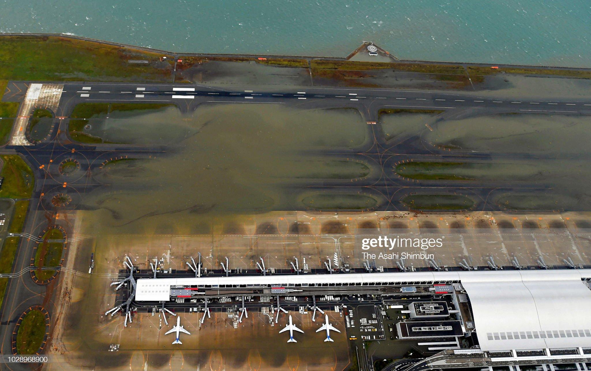 關西機場颱風