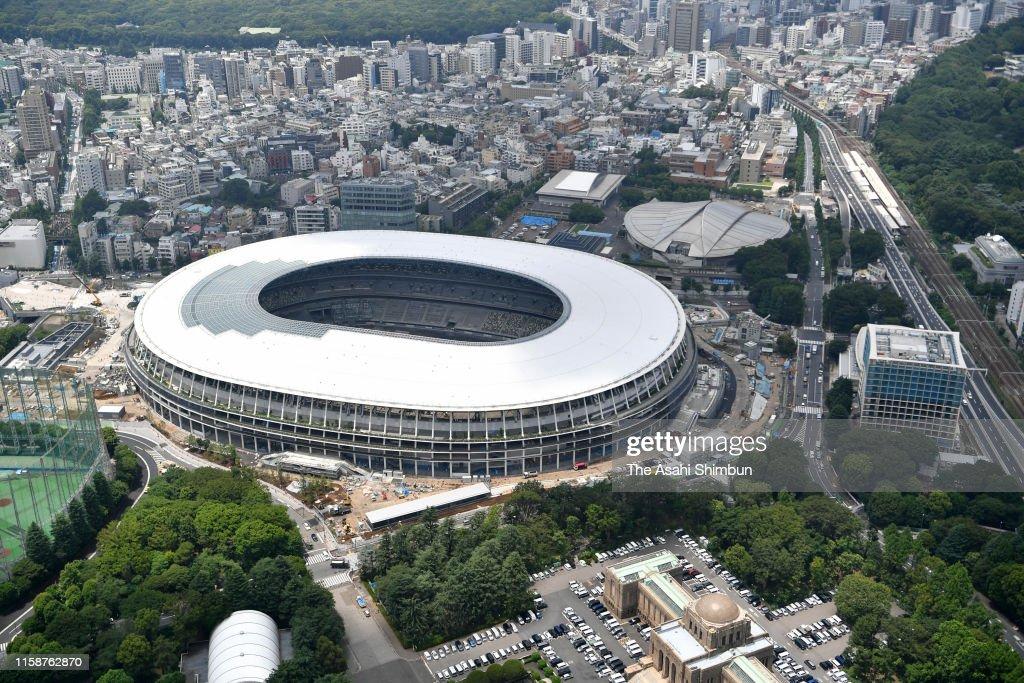 Tokyo Aerial : Foto jornalística