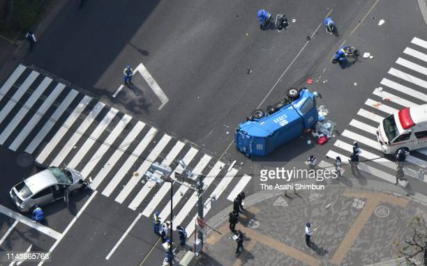 JPN: A Car Driven By 87-Year-Old Man Ploughs Into  Pedestrians, Kills Two