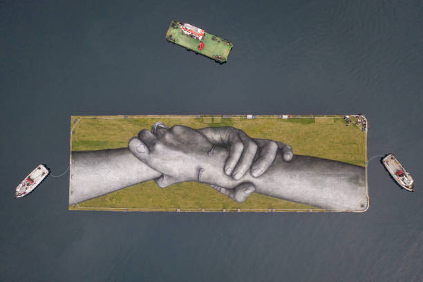 TUR: French Land Artist Unveils New Floating Artwork In Istanbul