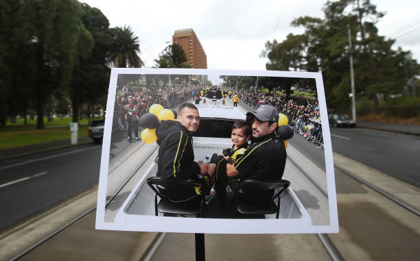 AUS: Views of the Traditional AFL Grand Final Parade Route