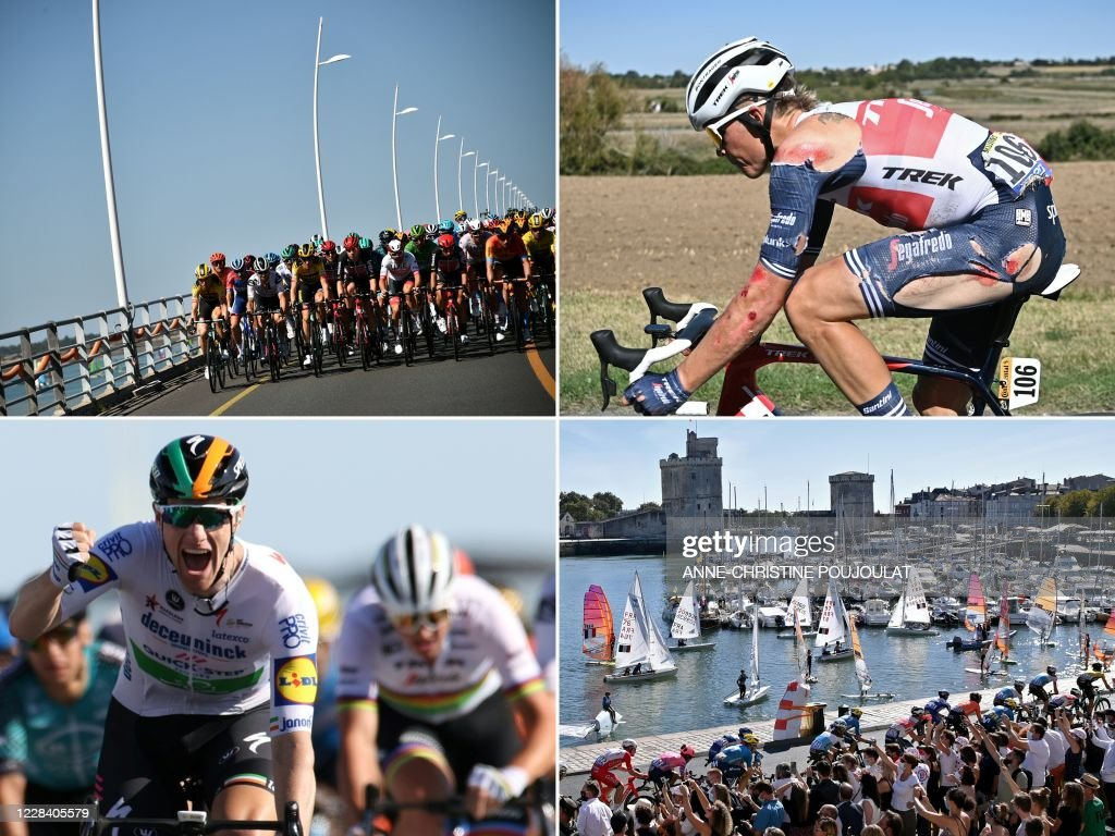 COMBO-CYCLING-FRA-TDF2020-STAGE10 : News Photo