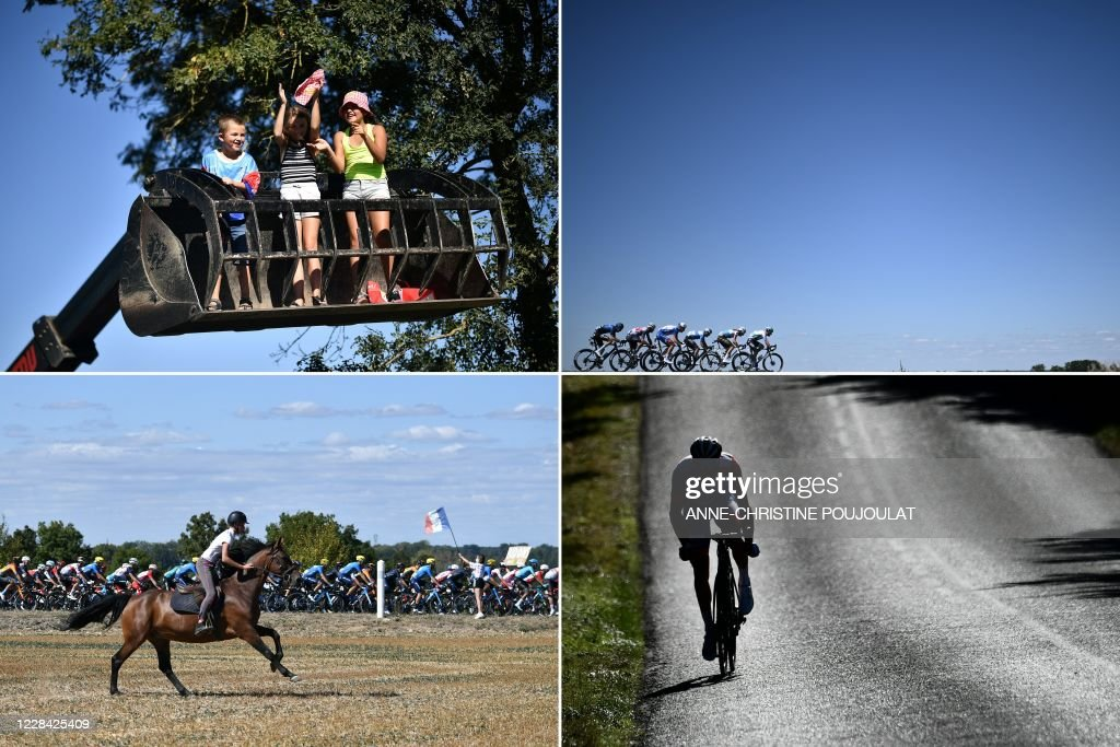 COMBO-CYCLING-FRA-TDF2020-STAGE11 : News Photo