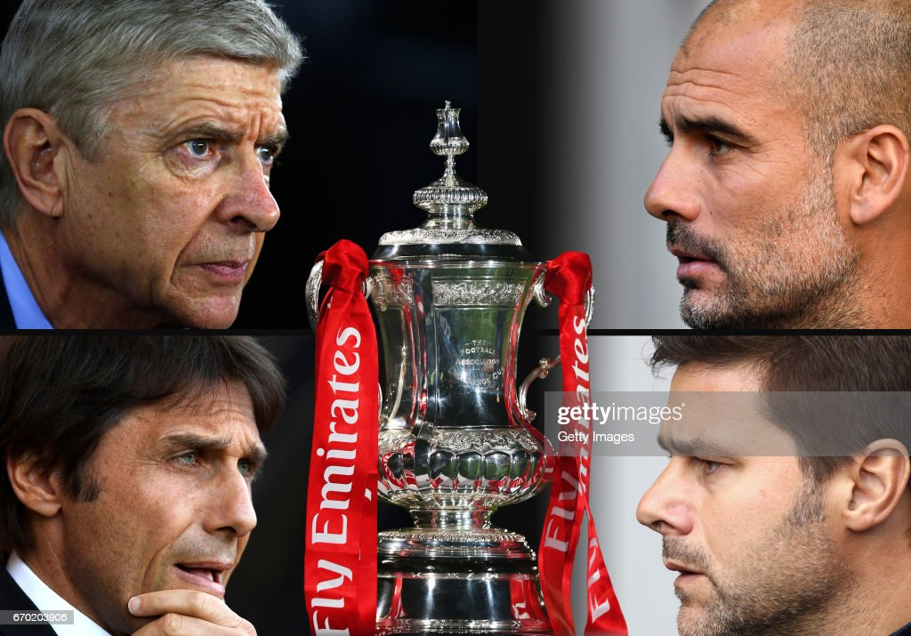 The Emirates FA Cup Semi-Finals : News Photo