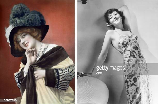 In this composite image a comparison has been made between Anna Held and Actress Luise Rainer Oscar hype begins this week with the announcement of...