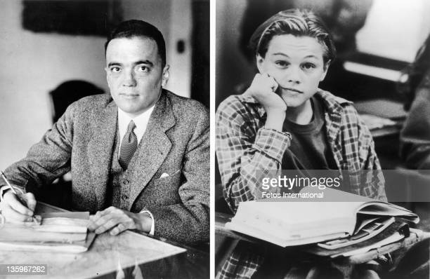 In this composite image a comparison has been made between J Edgar Hoover and Actor Leonardo DiCaprio Oscar hype begins this week with the...
