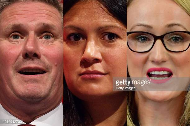 COMPOSITE OF IMAGES Image numbers 11704879431187815376 In this composite image a comparison has been made between the 3 Labour Leader candidates MP's...
