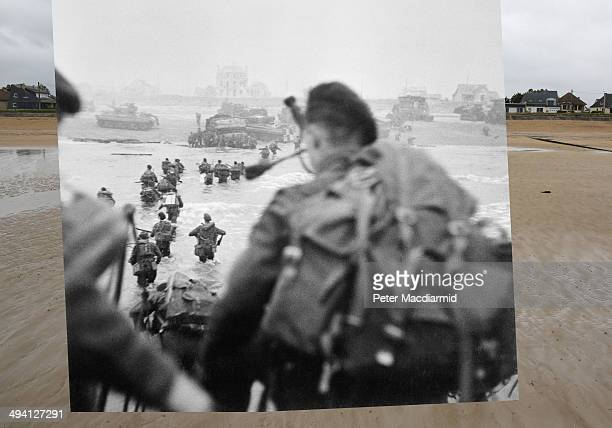 In this composite image a comparison has been made of La Breche France DDay took place on June 6 1944 Image Operation Overlord DDay 6 June 1944 The...