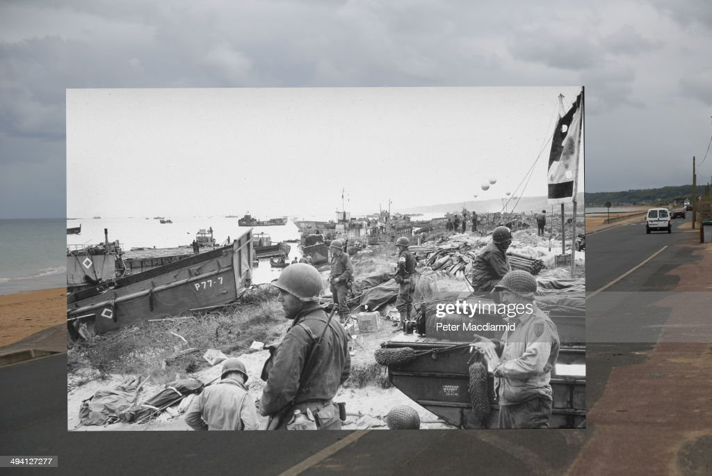 D-Day Remembered : News Photo