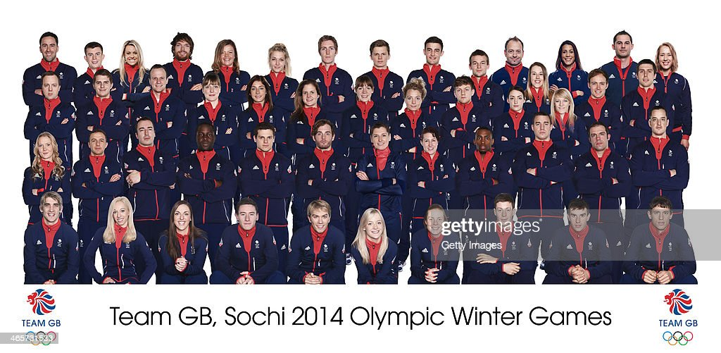 Team GB's Team For The Sochi 2014 Olympic Winter Games : News Photo