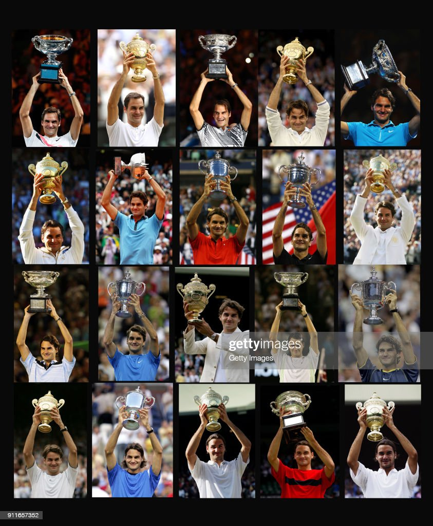 Roger's 20 Slams