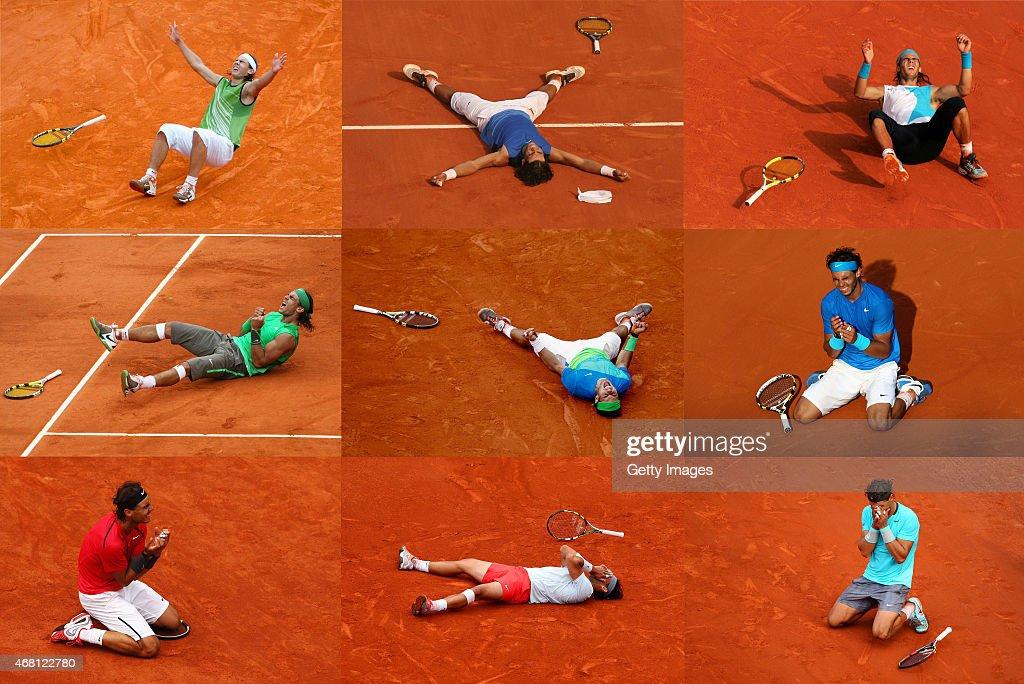 FILE: Rafael Nadal King Of Clay : News Photo