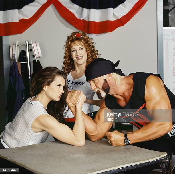 SUSAN In This Corner… Susan Keane Part 1 Episode 19 Aired 5/3/99 Pictured Brooke Shields as Susan Keane Kathy Griffin as Vicki Groener Hulk Hogan as...