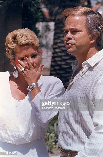 In this file photo from 1988 Tammy Faye Messner and former husband Jim Bakker are pictured together Messner died after a long battle with cancer on...
