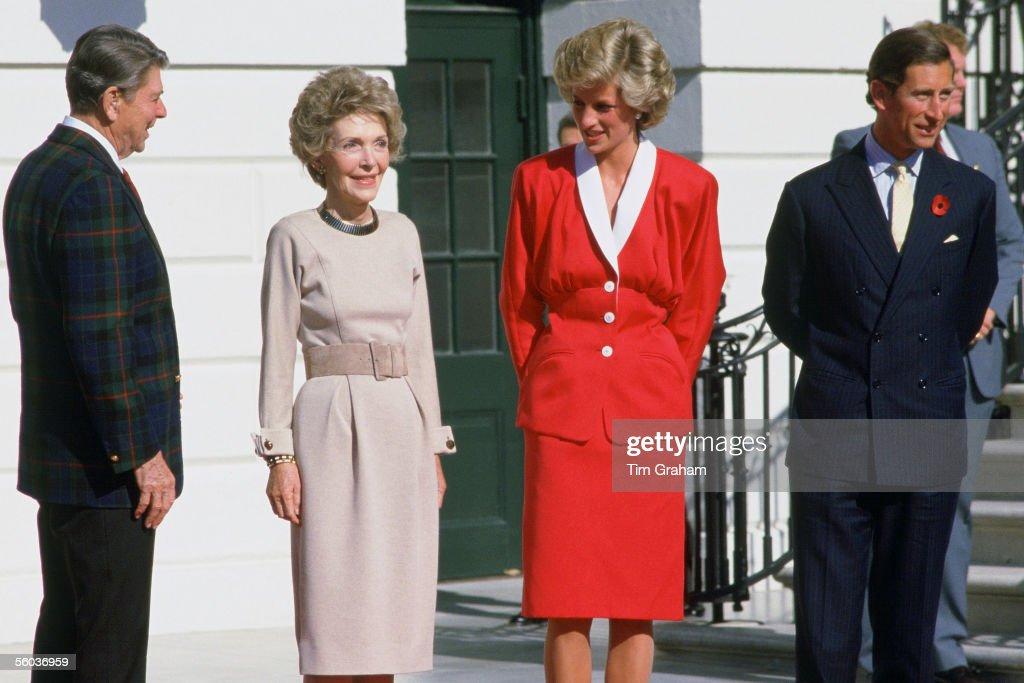 Charles & Diana in USA 1985 : Nachrichtenfoto
