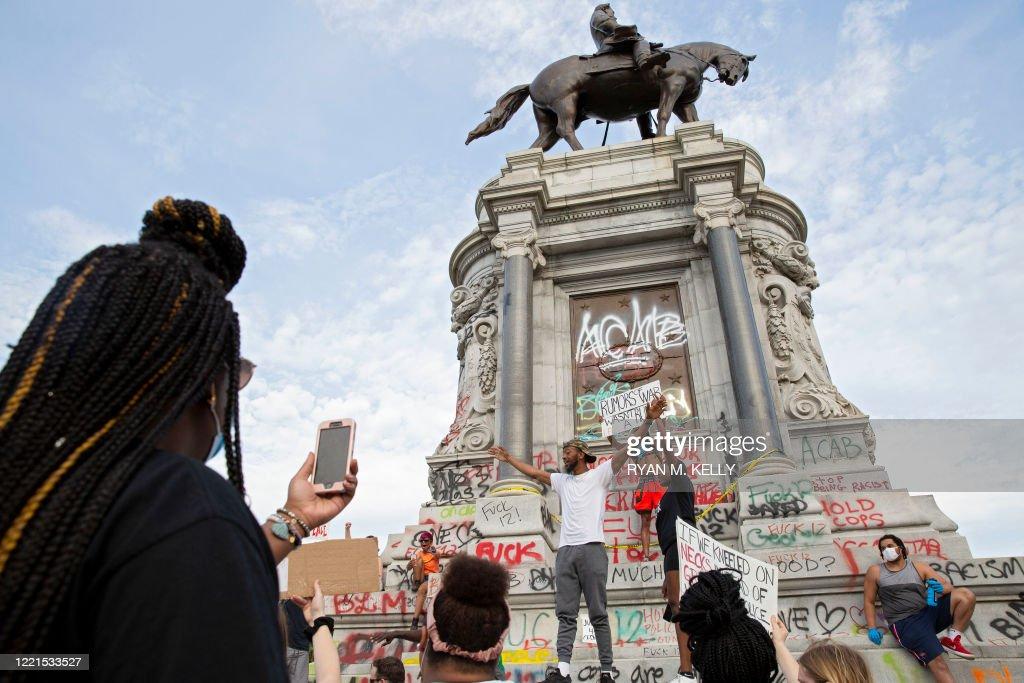 FILES-US-HISTORY-SOCIAL-DEMONSTRATION-RACISM : News Photo