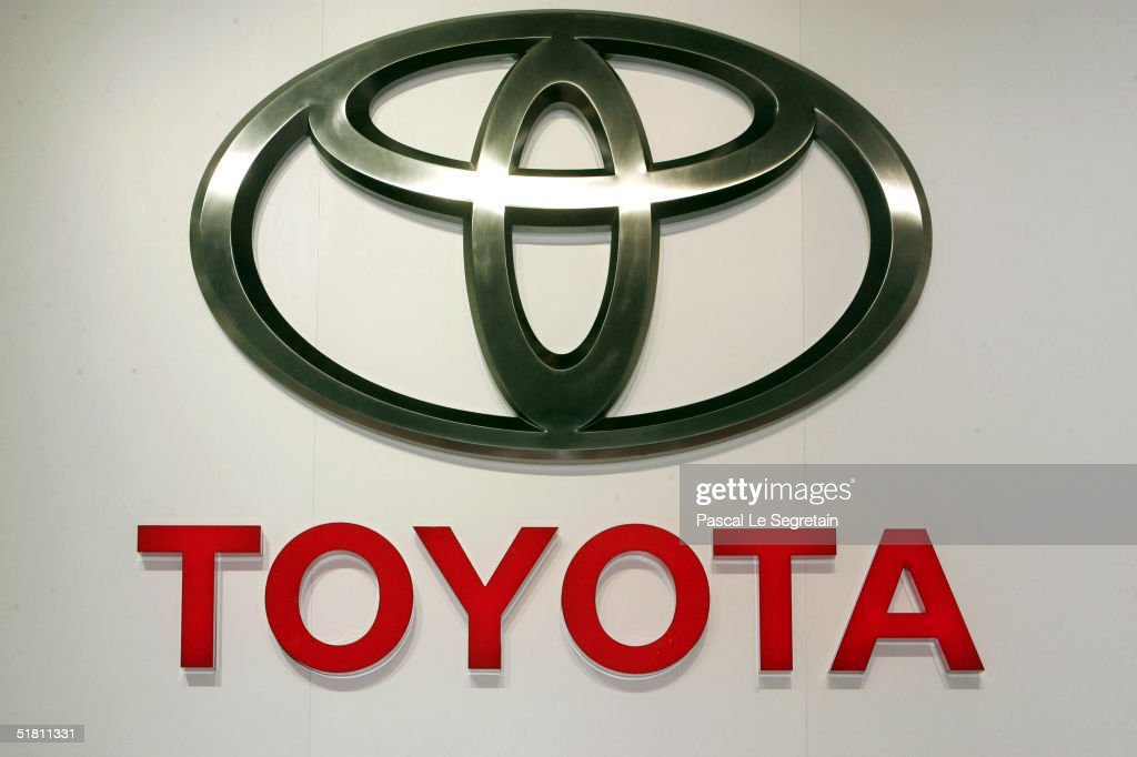 In This File Photo The Corporate Logo Of The Toyota Car Company Is