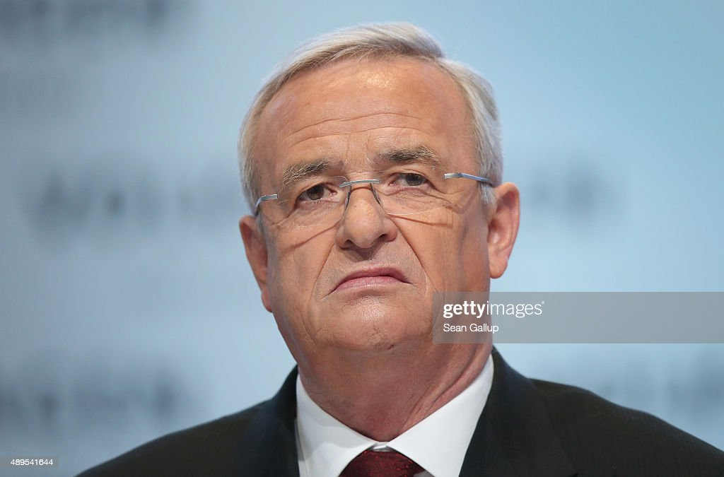 (FILE) Volkswagen CEO Martin Wintekorn : News Photo
