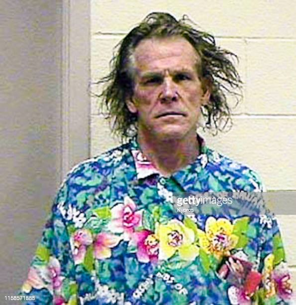In this handout American actor producer and author Nick Nolte in a mug shot following his arrest for driving under the influence California US 11th...