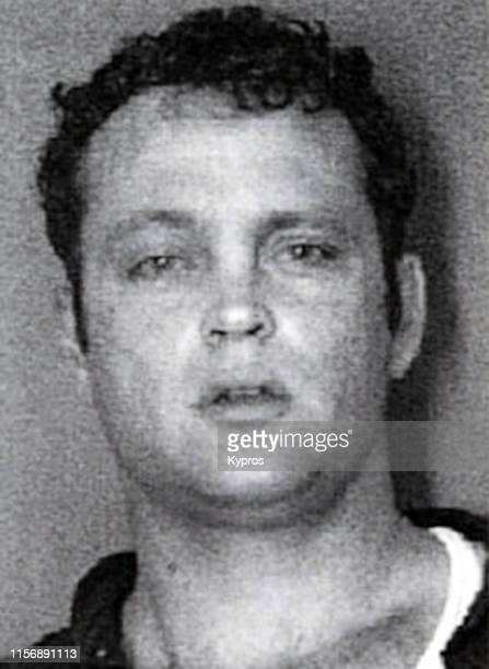 In this handout, American actor, producer, screenwriter, and comedian Vince Vaughn in a mug shot following his arrest for fighting in public, North...