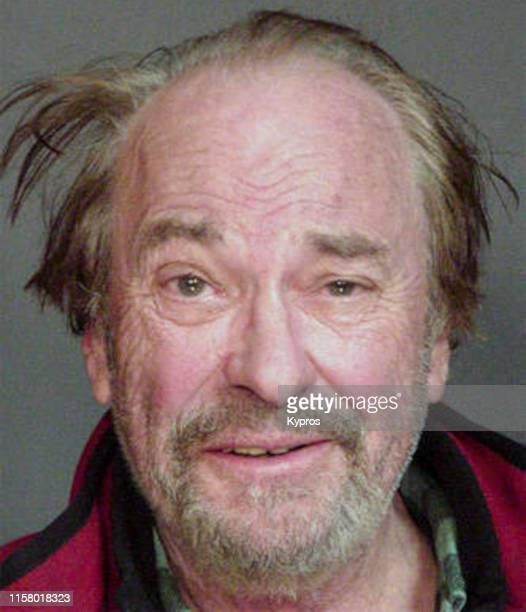 In this handout American actor voice artist and comedian Rip Torn in a mug shot following his arrest for driving under the influence Westchester New...