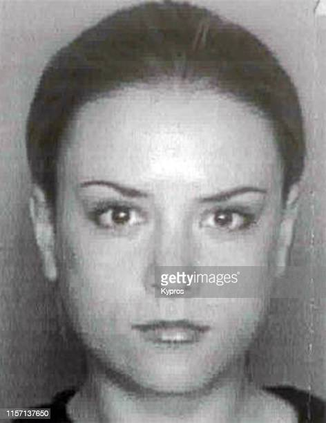 In this handout, American actress Brooke Mueller in a mug shot, circa 2001.