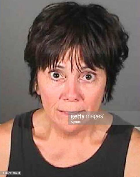 In this handout American actress Joyce DeWitt in a mug shot California US July 2009