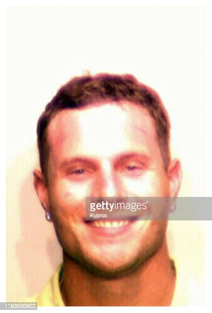 In this handout American former professional baseball outfielder Josh Hamilton in a mug shot following his arrest in North Carolina US May 2005