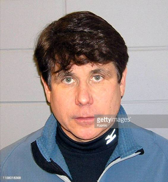 In this handout American politician Rod Blagojevich in a mug shot following his arrest on corruption charges US 9th December 2008