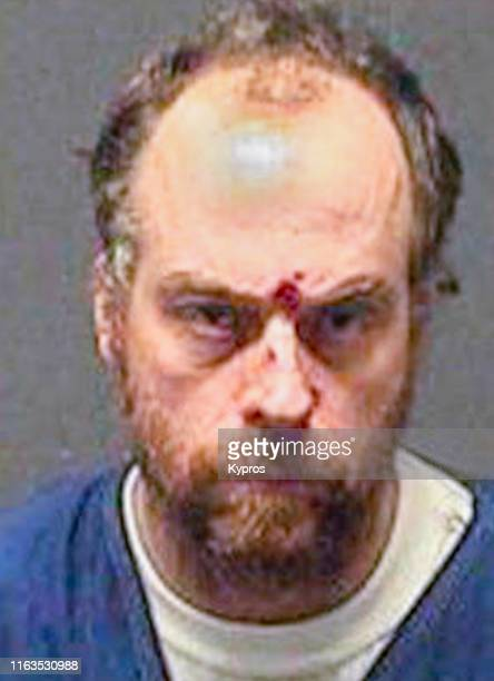 In this handout American singer actor and television personality Leif Garrett in a mug shot following his arrest for drug possession in Los Angeles...