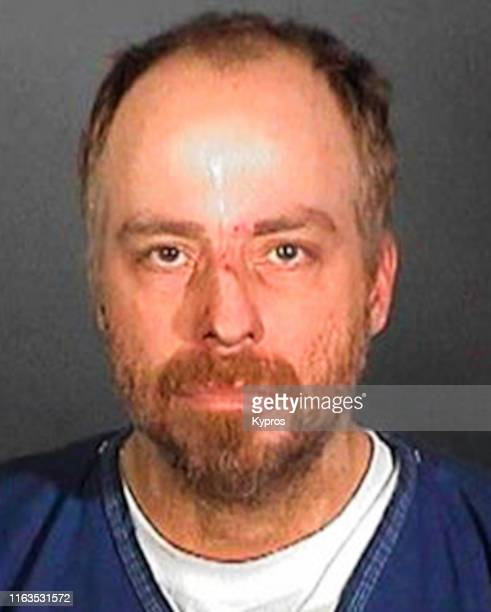 In this handout American singer actor and television personality Leif Garrett in a mug shot following his arrest US circa 2005