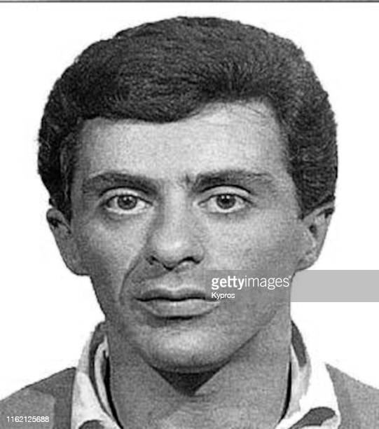 In this handout, American singer and actor Frankie Valli in a mug shot following his arrest in Colombus, Ohio, US, September 1965.